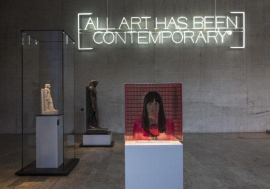 Cube von Ilana Lewitan in der Dauerausstellung
