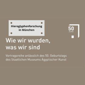 Vortrag Hieroglyphenforschung in München