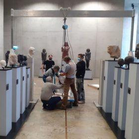 Umbauarbeiten im Museum