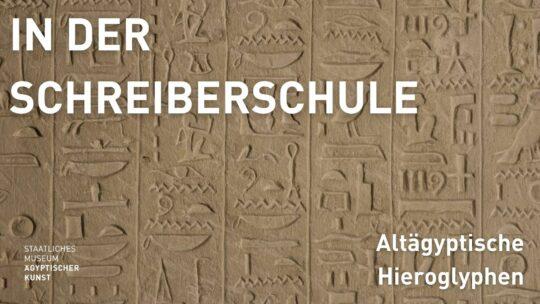 Titelbild Vortrag Hieroglyphen